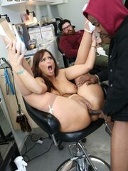 Ameteur cuckolds force to eat cream pie Syren DeMer @ WatchingMyMomGoBlack.com Every since Syren de Mer married Jay